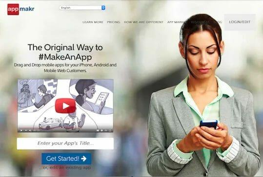 Screenshot appmakr