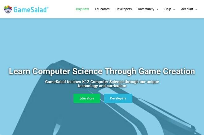 Gamesalad app maker screenshot